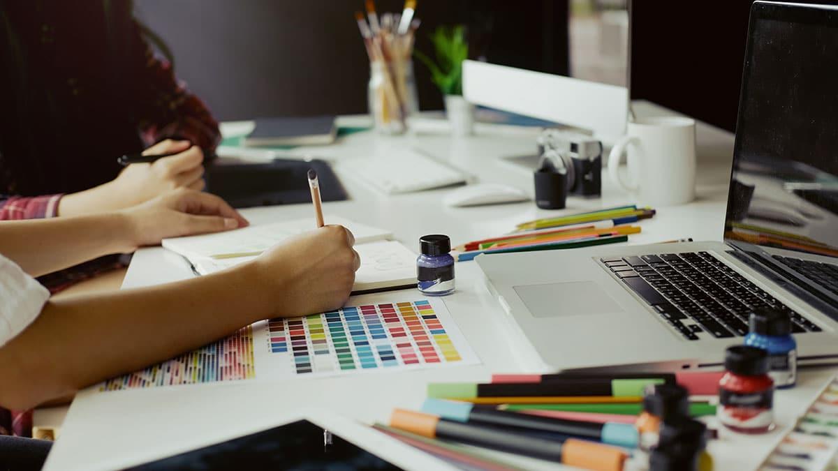 building a visual brand