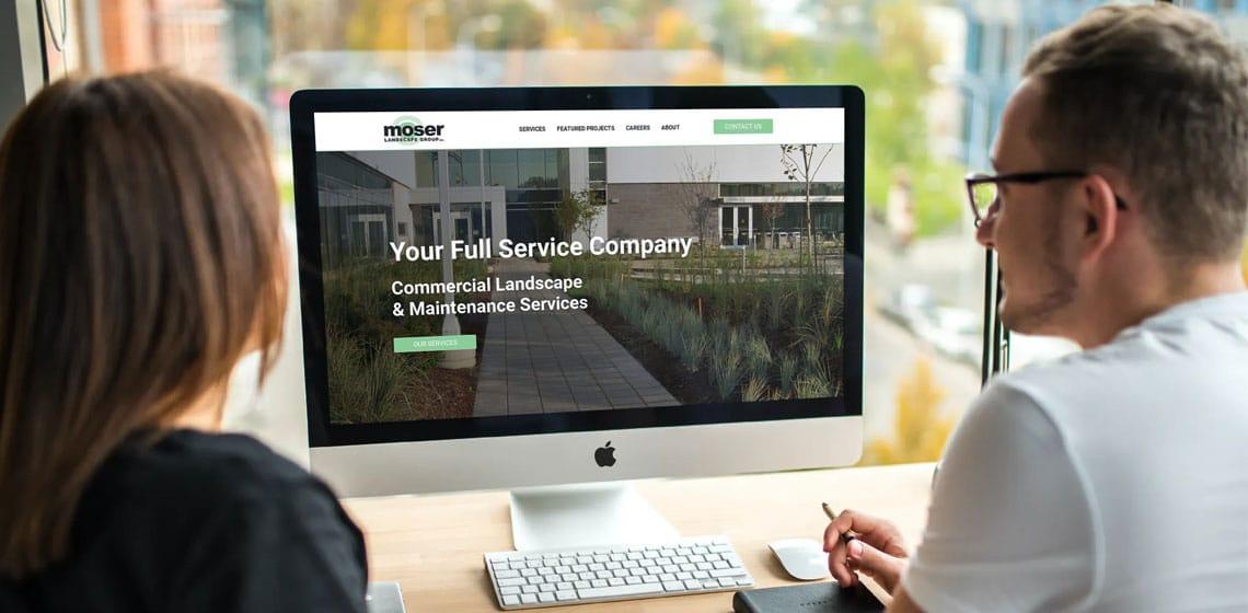 moser landscape group website